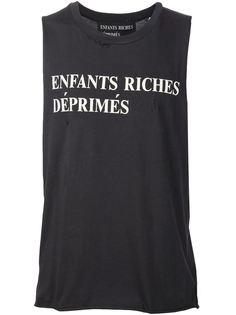 топ с логотипом Enfants Riches Deprimes