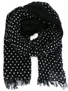 шарф в горох Yohji Yamamoto