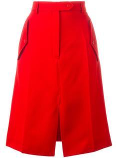 юбка А-силуэта со шлицей спереди Nina Ricci