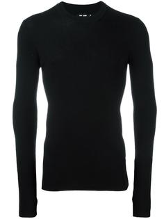 fitted jumper Blk Dnm