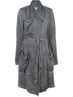 пальто с поясом Lost & Found Rooms