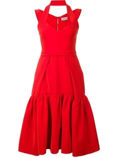 pleated hem dress Preen By Thornton Bregazzi