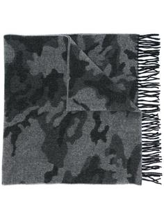 шарф с камуфляжным принтом Dondup
