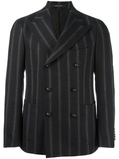 pinstripe double breasted jacket Tagliatore