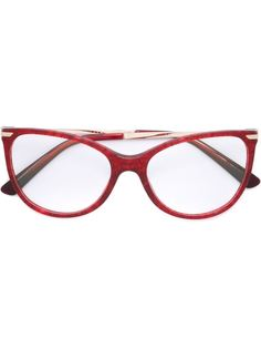 "очки в оправе ""кошачий глаз"" Bulgari"