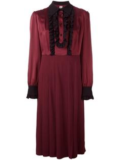 ruched button-up dress Antonio Marras
