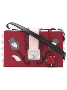 сумка через плечо с цветочным мотивом Salar