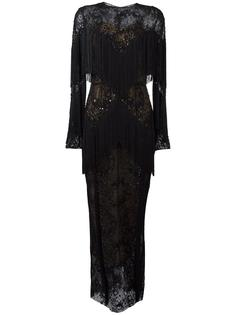 slip tassel maxi dress Zuhair Murad