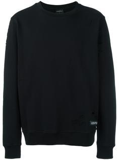 distressed sweatshirt Les (Art)Ists