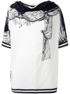 tent print tunic Loewe