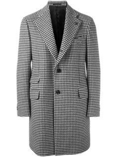пальто в ломаную клетку Gabriele Pasini