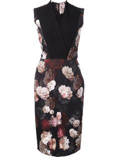 'Neta' floral dress Preen By Thornton Bregazzi