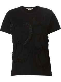 футболка с аппликацией Comme Des Garçons