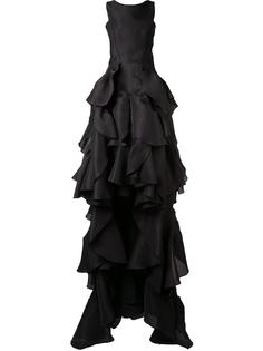 'Vanquished' ruffled gown Maticevski