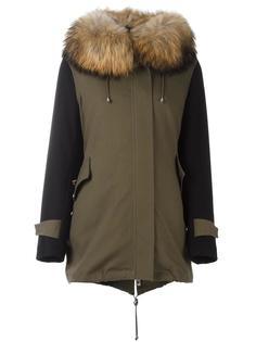 пальто с меховым воротником Forte Couture