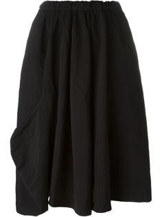 асимметричная юбка со складками Comme Des Garçons