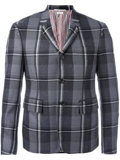 checked blazer Thom Browne