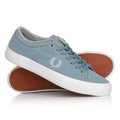 Кеды кроссовки низкие Fred Perry Kendrick Tipped Cuff Brushed Cotton Light Blue
