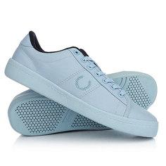 Кеды кроссовки низкие Fred Perry Reissue Tennis Shoe 2 Waxed Cotton Light Blue