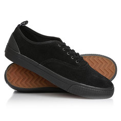 Кеды кроссовки низкие Fred Perry Barson Suede Black