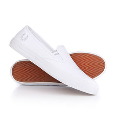 Слипоны Fred Perry Turner Slip On Canvas White