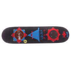 Дека для скейтборда для скейтборда Cliche S5 Puig Gypsy Life Impact Black 31.7 x 8.0 (20.3 см)