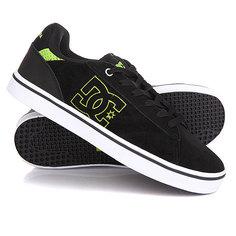 Кеды кроссовки низкие DC Notch Sd Black/Lime