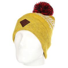 Шапка Запорожец Zap Classic Logo Yellow Melange/Beige