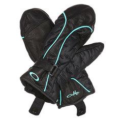 Варежки сноубордические женские Oakley Boiler Mitt Black