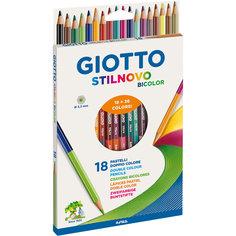 Двухсторонние цветные карандаши, 18 штук, 36 цвета. Lyra