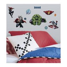 """Наклейки для декора """"Мстители"""" (персонажи) Room Mates"""