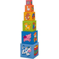 Пирамидка из кубиков, goki
