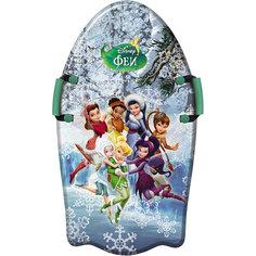 """Ледянка """"Феи"""", 92см, с плотными ручками, Disney"""