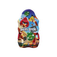 Ледянка выпуклая, с плотными ручками, 94см,Angry Birds, 1toy -