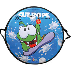 Ледянка, 52 см, круглая,  Cut the Rope,  1toy, 1toy -