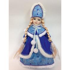 "Декоративная кукла ""Снегурочка Мариша"", (30см, на подставке) Феникс Презент"