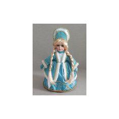 "Декоративная кукла ""Снегурочка Верочка"" (30см, на подставке) Феникс Презент"