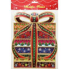 Новогоднее оконное украшение 41см Феникс Презент