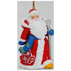 Новогоднее подвесное украшение (5*4.5*8.2см, из полирезины) Феникс Презент