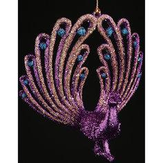 Новогоднее  подвесное елочное украшение из пластика Феникс Презент