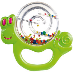 Погремушка Улитка, 0+, Canpol Babies, зеленый