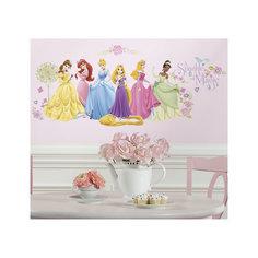 """Наклейки для декора """"Принцессы Дисней"""" (персонажи) Roommates"""