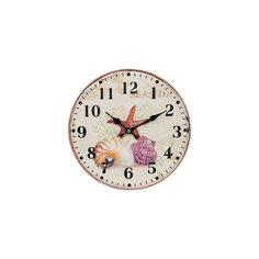"""Часы настенные """"Морские сокровища"""", диаметр 34 см Белоснежка"""