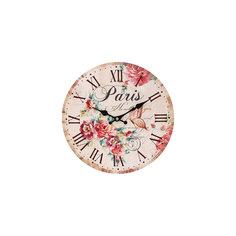 """Часы настенные """"Аромат лета"""", диаметр 34 см Белоснежка"""