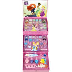 Игровой набор детской декоративной косметики в комоде, Принцессы Дисней Markwins
