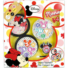 Игровой набор детской декоративной косметики с футляром, Минни Маус Markwins