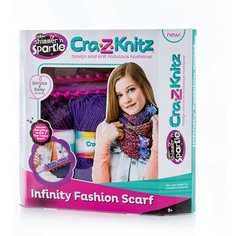 Cra-z-knitz Набор для Вязания Шарф-хомут Spin Master