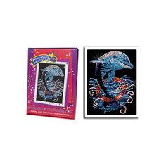 Мозаика из пайеток Дельфин Волшебная мастерская