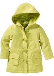 Однотонное пальто-дафлкот на молнии (лиловый) Bonprix