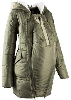 dd1d2d83db15 Мода для беременных  куртка с подкладкой и карманом-вкладкой для малыша  (черный)